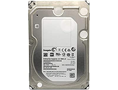 SEAGATE Enterprise Capacity 3.5 HDD, 6TB, 7200RPM SATA 6Gbps, 128 MB Cache Internal Bare Drive ST6000NM0024 from SEAGATE