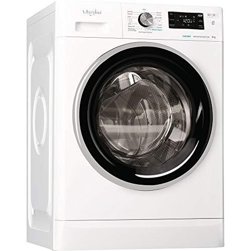 Whirlpool – Lavadora sin instalación Whirlpool Modelo FFB R8428 BV IT Capacidad 8 kg Clase A+++-30% 1200 RPM