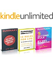 Summary Bundle: The 5 Second Rule, 12 Rules For Life, The 4-Hour Workweek