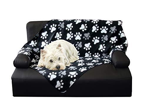 Nobby 60875 Hundedecke Classic Pippa schwarz L x B: 100 x 150 cm, L, schwarz