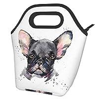 最新の改良シュナウザーかわいい犬 (3) ランチバッグ 保温 バッグ 断熱バッグ 再利用可能ランチバッグ 軽量化 防水ランチトート 男女兼用/子供にも ミニ オフィス&通勤&通学&ピクニック&遠足