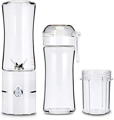 Portable Electric Juicer Blender Fruit, Food Milkshake Mixer Meat Grinder Multifunctional Juice Maker Machine Water Bottle (Color : -)