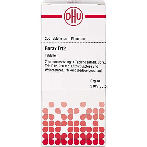 DHU Borax D12 Tabletten, 200 St. Tabletten
