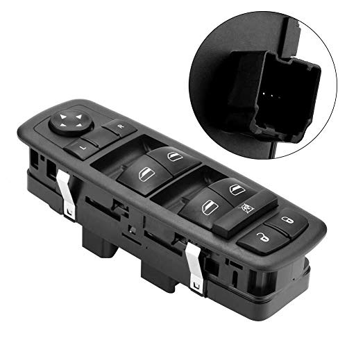 Driver Side Master Power Window Switch 4602535AC Fit for 2008 2009 Chrysler Town & Country Dodge Grand Caravan 4602535AG 4602535AF 4602535AD- No Auto