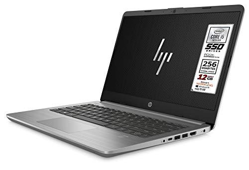 Hp Ultrabook serie Silver ultraleggero 1,47 Kg Cpu Intel core I5-1035G 10Gen 4 Core, 12Gb Ddr4, SSD M.2 NVME da 256Gb, Display 14', wi-fi, bt, Win 10 Pro, Pronto all'uso, Garanzia e Tastiera Italiana