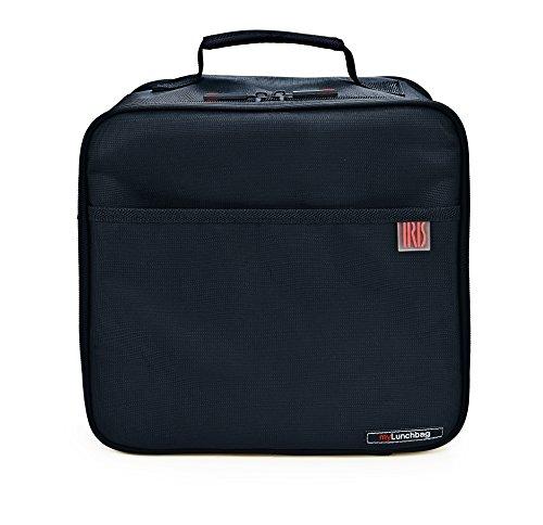 IRIS Bolsa portalimentos para llevar comida con contenedores de 0,7 y 1L