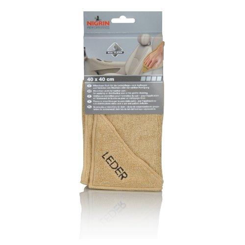 NIGRIN 71115 Microfasertuch Leder 40 x 40 cm