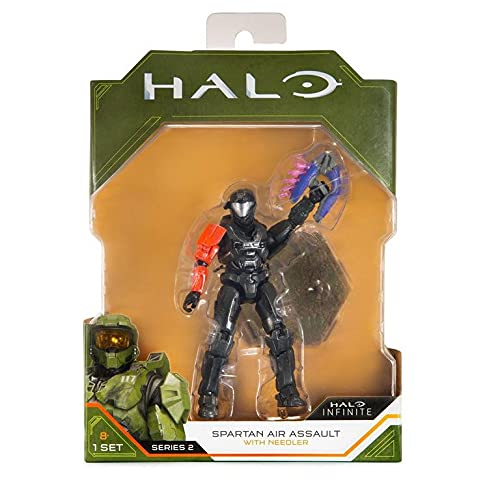 Halo Infinite - Spartan Air Assault with Needler - Series 2 Figure