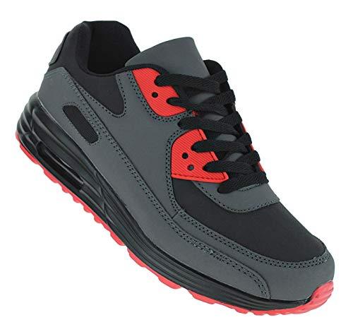 Bootsland 551 Neon Turnschuhe Sneaker Sportschuhe Herren, Schuhgröße:47