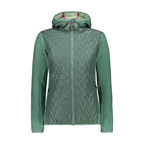 Cmp Woman Jacket Fix Hood Hybrid XXS