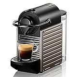 Espressomaschinen Kaffeemaschine Kleiner Kaffeevollautomat Home Office Kapsel-Kaffeemaschine Kleine (Color : Black, Size : 11 * 32 * 23cm)