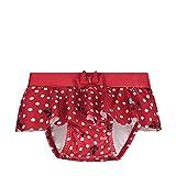 Steiff Baby-Mädchen Schwimmwindel, Rot (Tango Red 4008), 86 (Herstellergröße: 086)