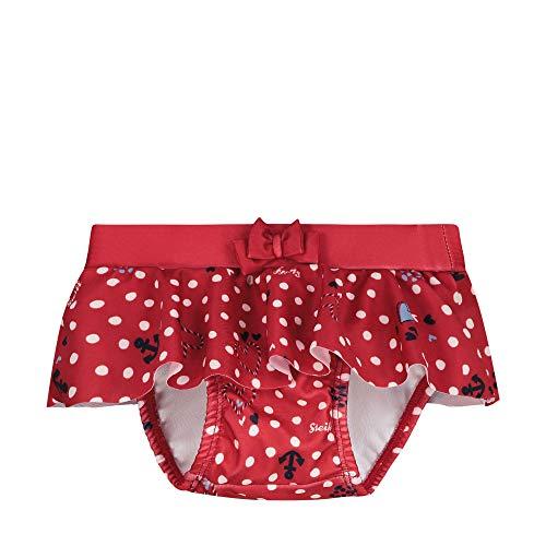 Steiff Baby-Mädchen Schwimmwindel, Rot (Tango Red 4008), 68 (Herstellergröße: 068)