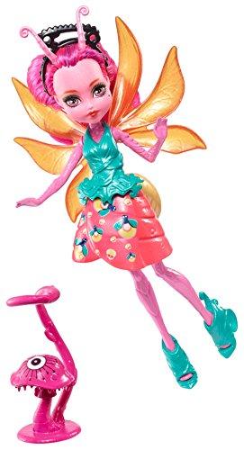 Monster High Mattel FCV50 - Garten-Monsterfreundinnen Insekt Lumina - EIN Glühwürmchen, Puppe