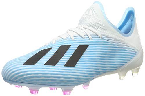 adidas Herren X 19.1 Fg Fußballschuhe, Blau (Bright Cyan/Core Black/Shock Pink Bright Cyan/Core Black/Shock Pink), 46 EU