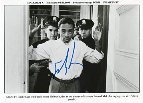 FILM DIRECTOR Spike Lee autograph, signed promo photo