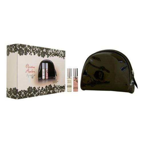 Christina Aguilera My Secret Women Giftset EDP Spray 10ml, EDP Spray 10ml (Night) und Pouch, 1er Pack (1 x 20 ml)