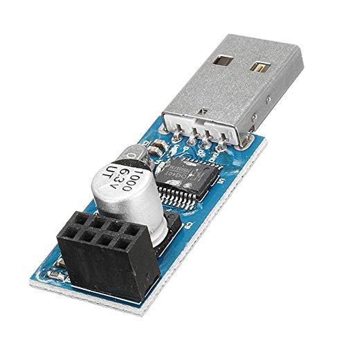 CLJ-LJ 20 unidades USB a ESP8266 adaptador de módulo WiFi placa de comunicación para computadora móvil conector inalámbrico