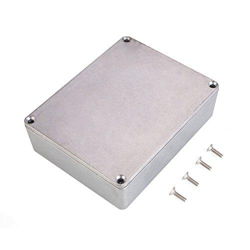 Forfar 1590BB Aluminiummetall Stomp Box Fall-Gehäuse Gitarren-Effekt-Pedal