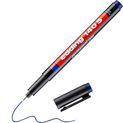 Edding 140 003 140 S - OHP-Marker, Permanent, 0,3 mm, blau