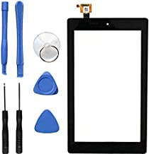 """New Digitizer Screen Replacement for Amazon Fire 7th Gen SR043KL 7"""" Black (for 7th Generation 2017 Release)"""