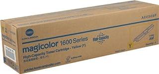 Konica Minolta A0V306F OEM Toner - magicolor 1600 1650 1680 1690 Series Yellow High Capacity Toner (2500 Yield) OEM
