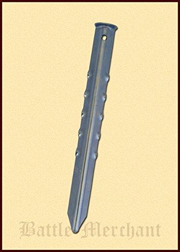Grande tente simple – Hareng en acier Longueur : env. 30 cm style Moyen-Âge Camping
