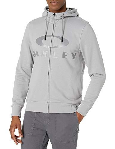 Oakley Men's BARK FZ Hoodie, Fog Grey, XXL