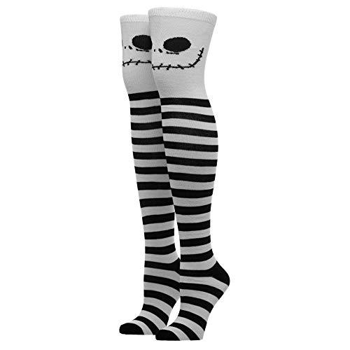 Jack Skellington Nightmare Before Christmas Thigh High Socks Nightmare Before Christmas Accessories Nightmare Before Christmas Gift Nightmare Before Christmas Socks Nightmare Before Christmas Apparel