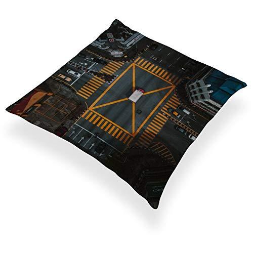 DKE&YMQ Funda de almohada de lino de algodn ligero individual, juegos de ingeniera software de videojuegos