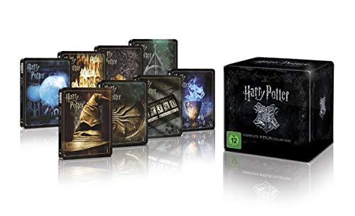 Harry Potter Complete Collection Steelbook 4K (BOX) [Region Free] (Audio español. Subtítulos en español)