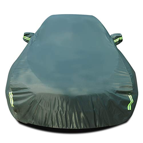 Car Cover Compatible with Mercedes-Benz GLA 250 e Plug-in Hybrid, All Weather Car Tarpaulin Waterproof Full Exterior Covers Car Defender with Storage Bag, Black/Silver/Blue/Green