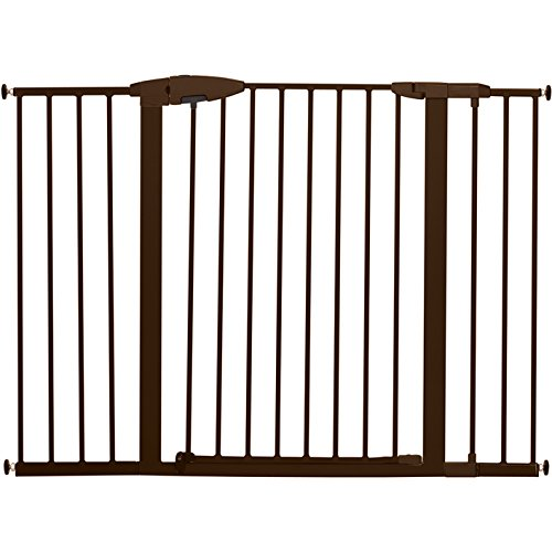 Munchkin Easy Close XL Metal Baby Gate, 29.5' - 51.6' Wide, Bronze, Model MK0009-111