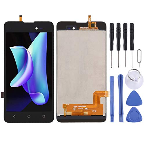 YANTAIAN Piezas de reparación de teléfonos celulares Montaje Completo de Pantalla LCD y digitalizador para BQ BQ-5035 Velvet