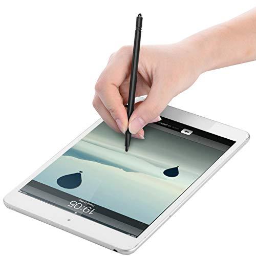 Emoshayoga Lápiz óptico Negro para Tableta para Dibujar gráficos en Pantallas táctiles