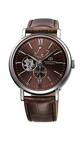 [オリエント]ORIENT 腕時計 ORIENTSTAR オリエントスター クラシック 機械式 自動巻(手巻付) ブラウン WZ0301DK メンズ