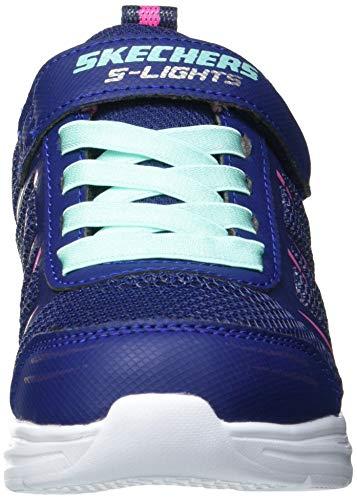 Skechers Glimmer Kicks, Zapatillas, Azul Marino Sintético/Adorno, 33 EU