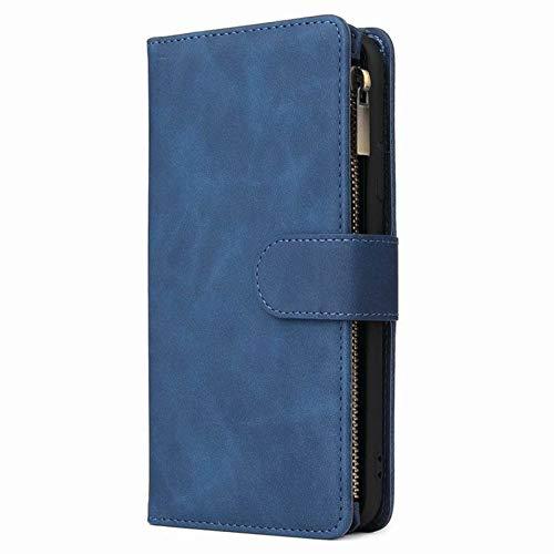 N-B Suitable For IPhone12 Zipper Bag Multi-Card Mobile Phone Holster XS 8p 6S Multi-Function Bracket Flip Phone Case
