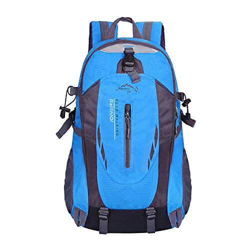 TnXan 40L Travel Backpack Outdoor Sports Mountaineering Backpack Camping Mountaineering Hiking Backpack Travel Waterproof Bicycle Bag 5 Colors Suitable for Men and Women