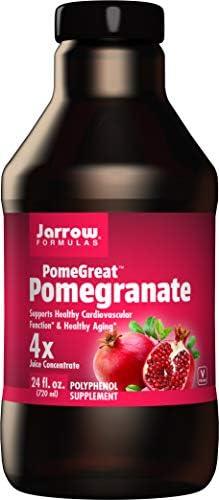 Jarrow Formulas PomeGuard, Supports Cardiovascular Function, 425 mg, 60 Veggie Caps
