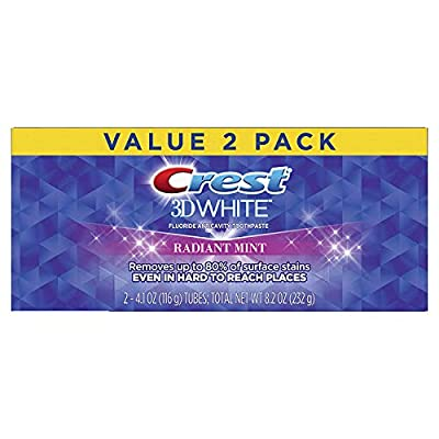 Crest 3D Whitening Toothpaste Radiant Mint,