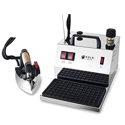 EOLO Centro de planchado profesional con caldera GV04 INOX