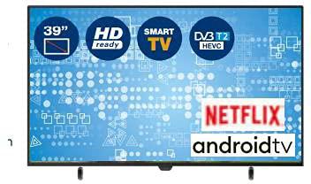 Inno Hit 39IH39S - Smart TV LED (39 pulgadas, Android DVB-T2)