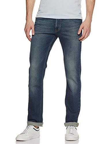 Numero Uno Men's Slim Fit Jeans (NMJNNA1025_Oxegen_30)