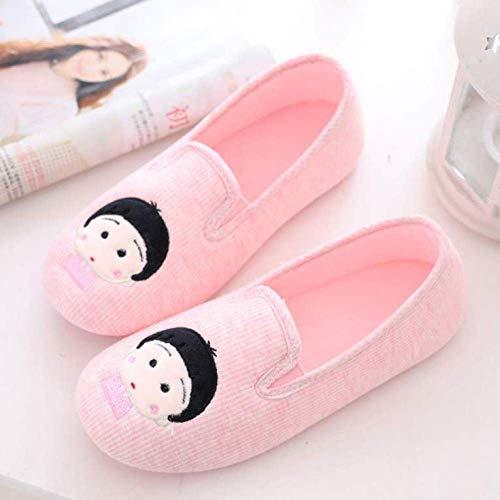 Orthopedische schoenen,Moederschapsschoenen met zachte hakken, ademende antislip pantoffels na levering-38_ Kleine balletjes-roze,Diabetische wandelschoenen voor heren Ademende sneakers