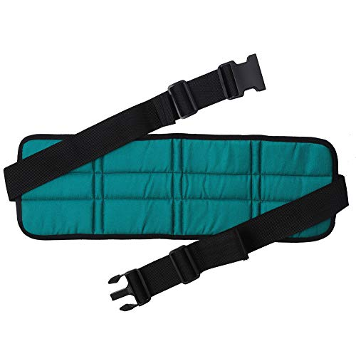 Caredy Sicherheitsgurt für Rollstühle , Atmungsaktiv Verstellbarer Sicherheitsgurt für Rollstühle Sicherheitsgurte Beckengurt Rollstuhlgurt(Rollstuhlgeschirr)
