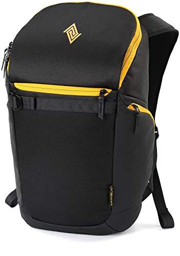 Nitro Nikuro Daypack Alltagsrucksack Schulrucksack Sportrucksack Wasserabweisende Reissverschlüsse Laptopfach, Golden Black, 26 L
