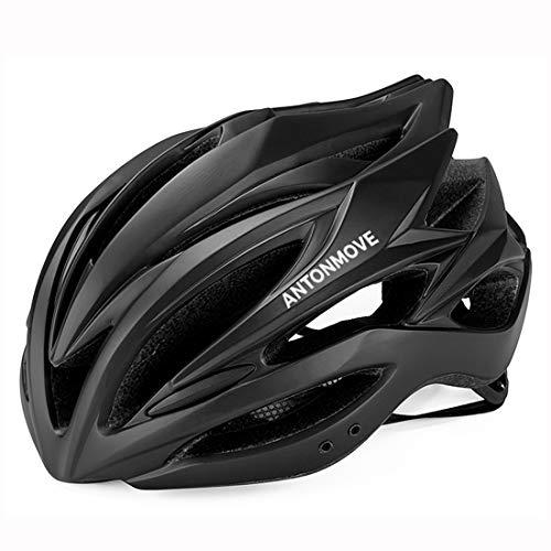 LXJ - Casco de ciclismo para hombre, cómodo, transpirable,