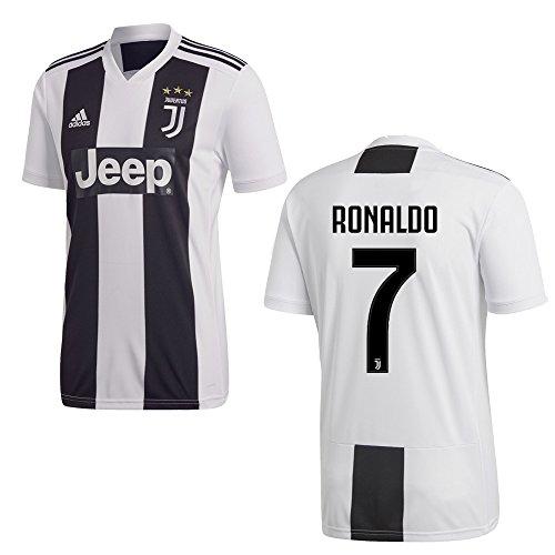 adidas Juventus Turin Trikot Home Kinder 2019 - Ronaldo 7, Größe:164
