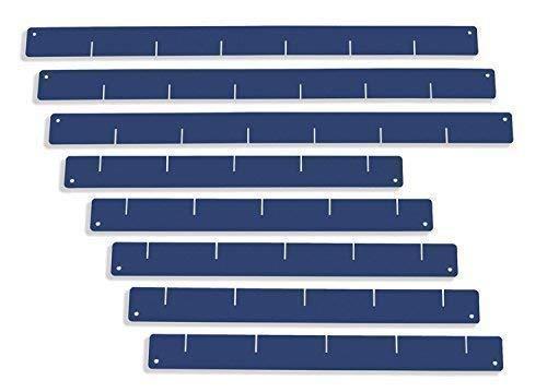 Schubladeneinteiler, blau - Set, für Werkstattwagen